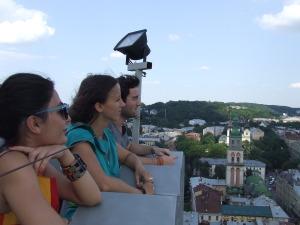 Львів з висоти міської ратуші