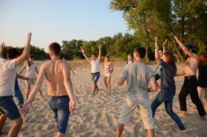 Гри на пляжі